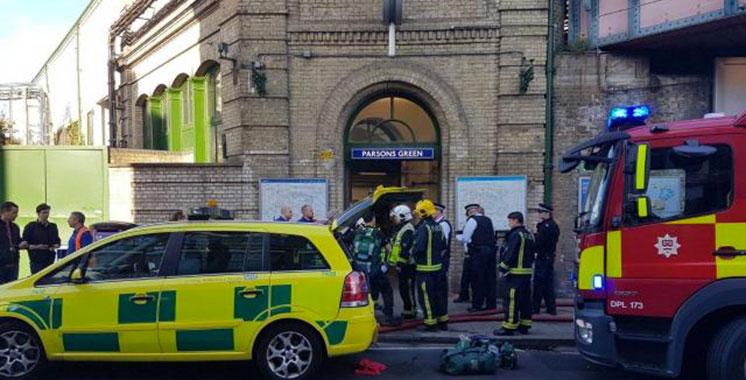 Londres : Explosion dans le métro, plusieurs passagers blessés