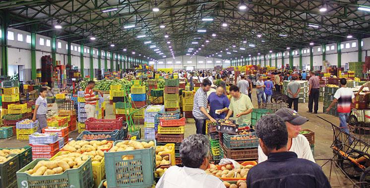 Tanger : Ouverture du marché de gros des fruits et légumes