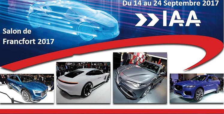 Salon de l'auto de Francfort : Plus de 200 premières mondiales du 16 au 24 septembre