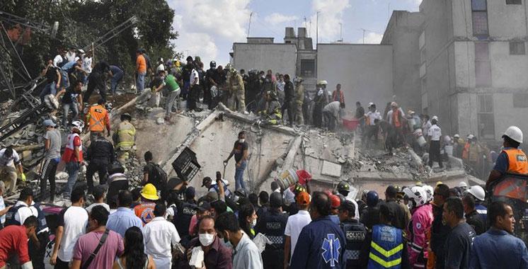Puissant séisme au Mexique: le bilan s'alourdit à 216 morts