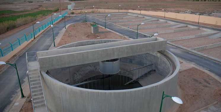 La station d'épuration  de Kénitra mise  en service en 2018