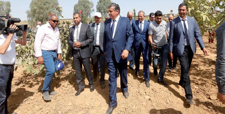Taounate : Akhannouch s'enquiert de l'état d'avancement des projets agricoles
