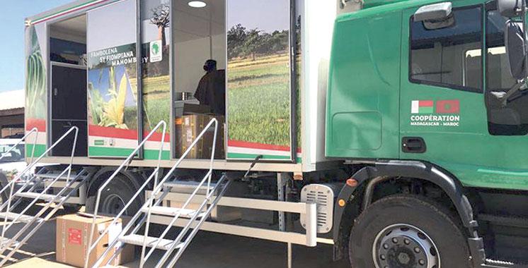 La fondation OCP participe au lancement  de la Caravane agricole à Madagascar