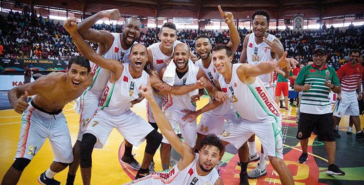 Afrobasket : Le Maroc face à l'Egypte en quart de finale