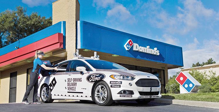 Voiture autonome expérimentale : Ford livre des pizzas dans le Michigan