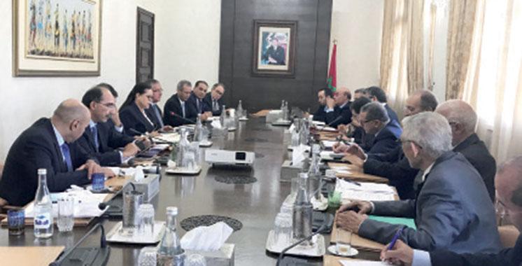 El Othmani tient une rencontre de consultation avec une délégation  de la CGEM