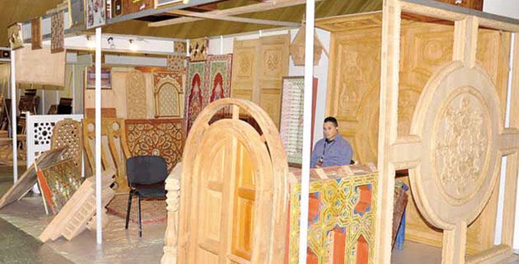 Le 2è Salon national d'artisanat du bois du 29 septembre au 8 octobre à Meknès