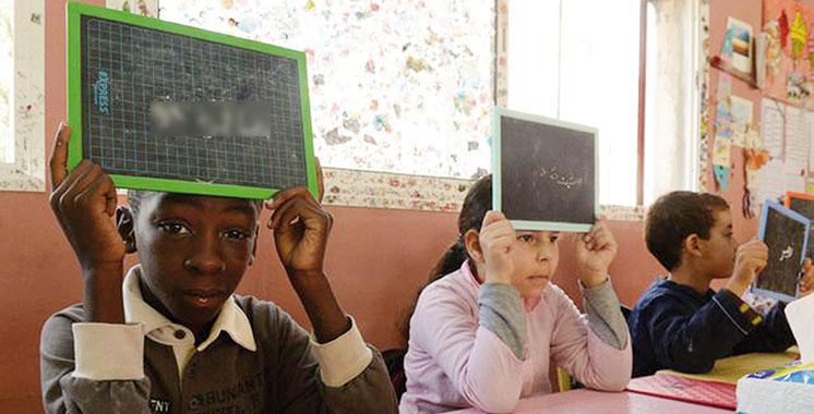 Education : 73% des enfants réfugiés sont scolarisés au Maroc