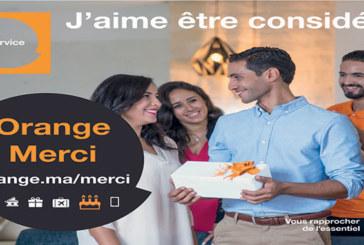 «Orange Merci» : Un nouveau programme pour récompenser tous les clients