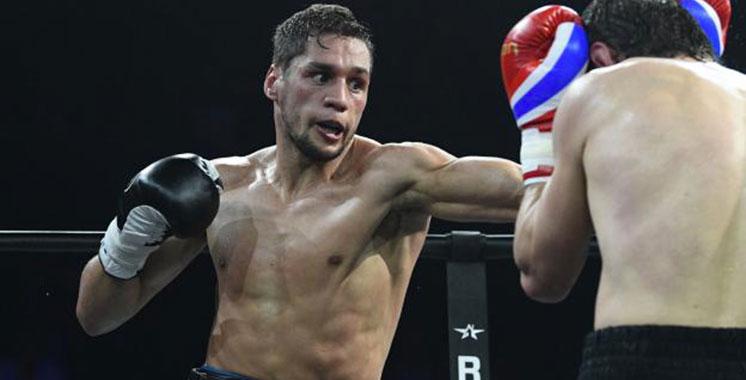 Boxe : Le marocain Ahmed El Moussaoui affronte à Paris le boxeur mexicain Carlos Molina