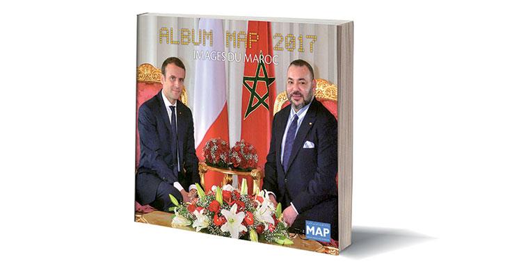 La MAP immortalise les moments forts de 2017 à travers l'album  «Images du Maroc»