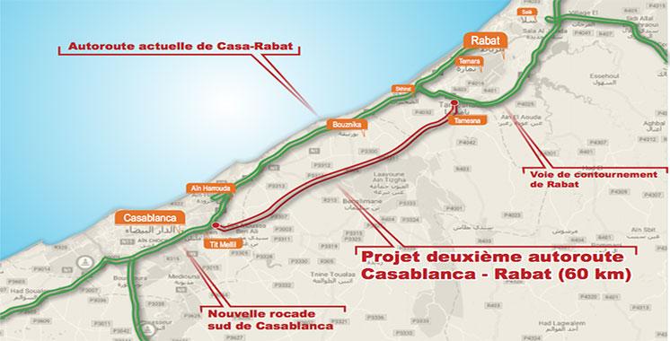 Exclusif : Une deuxième autoroute Casa-Rabat en projet