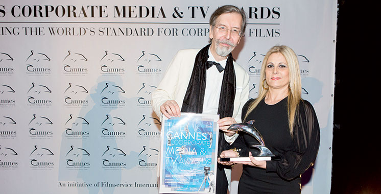 Dounia Productions primée à Cannes aux Corporate Media & TV Awards