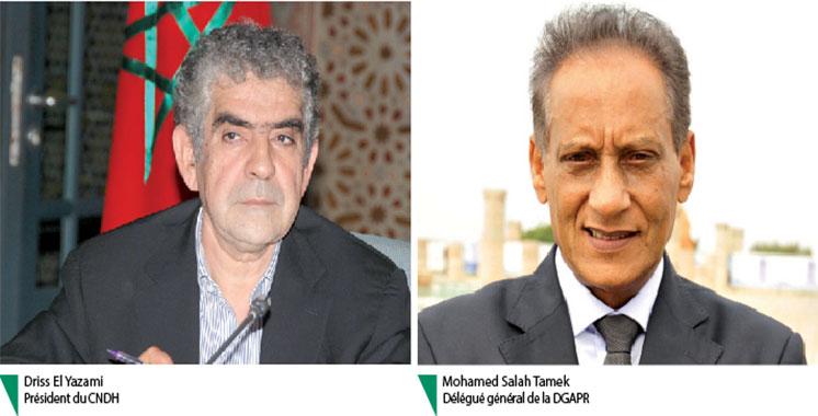Prisons : Le point entre Yazami et Tamek