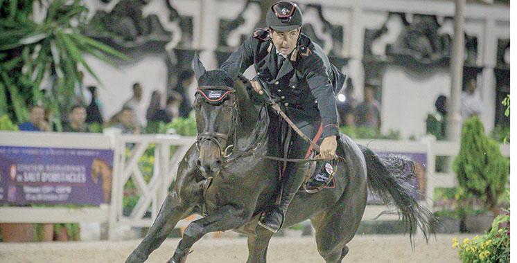 Saut d'obstacles : L'Italien Godiano domine  la compétition