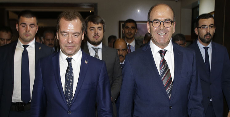 Medvedev : La Russie a besoin du Maroc