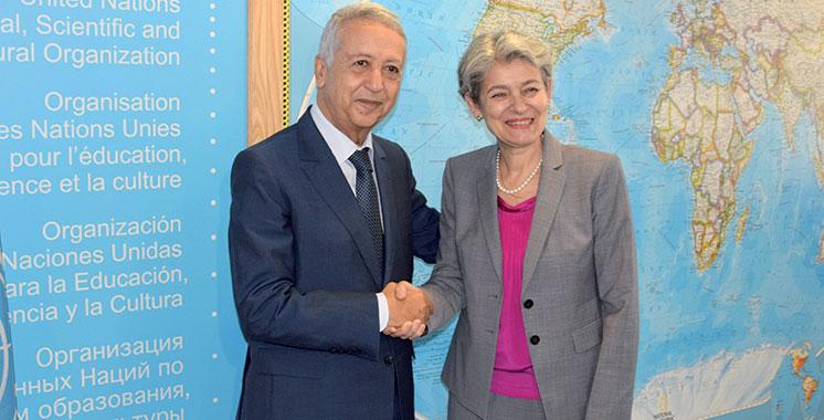 Latifa Toufik nommée à la présidence du Conseil d'appel de l'Unesco