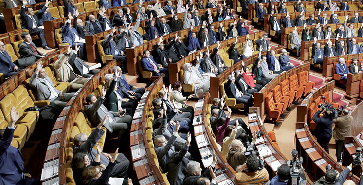 La Chambre des représentants adopte en deuxième lecture le projet de loi de Finances 2018