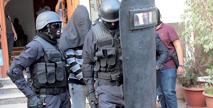 Sidi Slimane : Le BCIJ fait tomber 4 membres d'une cellule terroriste