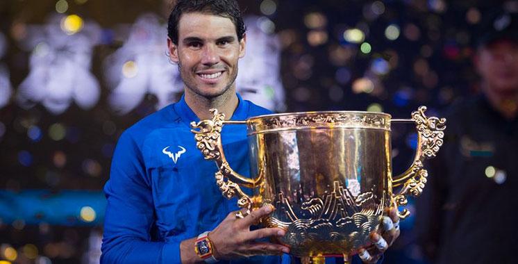 Tournoi de Pékin: Rafael Nadal remporte le 75è titre de sa carrière