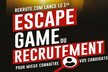 ReKrute lance les «Escape Game du recrutement»