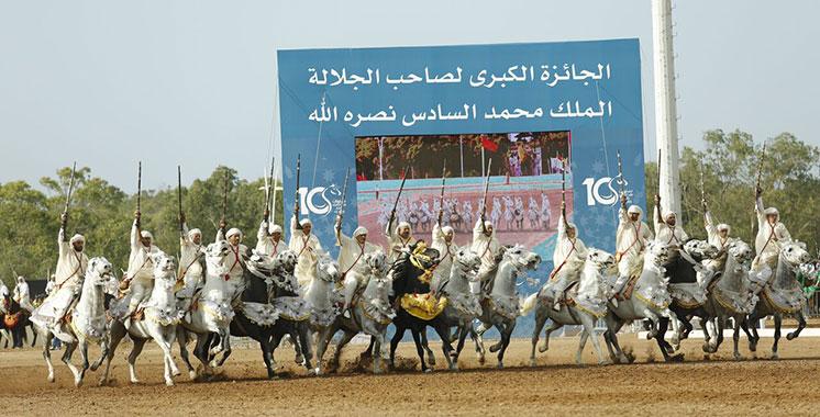 El jadida poste maroc met un timbre pour les dix ans du for Salon du cheval montpellier 2017