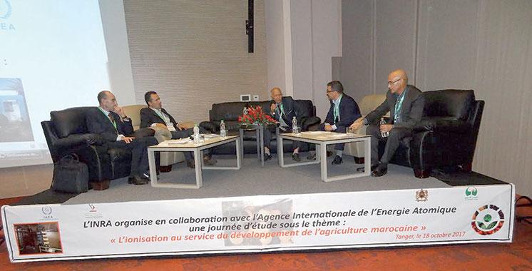 Journée d'étude : Les bienfaits de l'ionisation sur l'agriculture étalés à Tanger