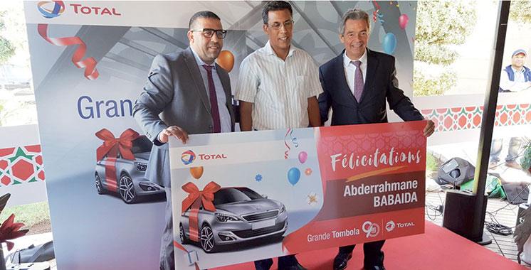 Pour son 90ème anniversaire : Total Maroc consacre ses clients fidèles