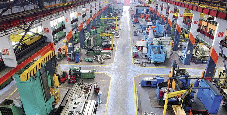 Industries manufacturières : Hausse de 0,9% de l'indice  de la production au T1-2021