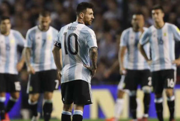 Mondial-2018 : L'Argentine compromet ses chances de qualification