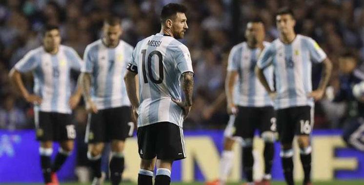 Mondial-2018 : L'Argentine compromet ses chances de qualification