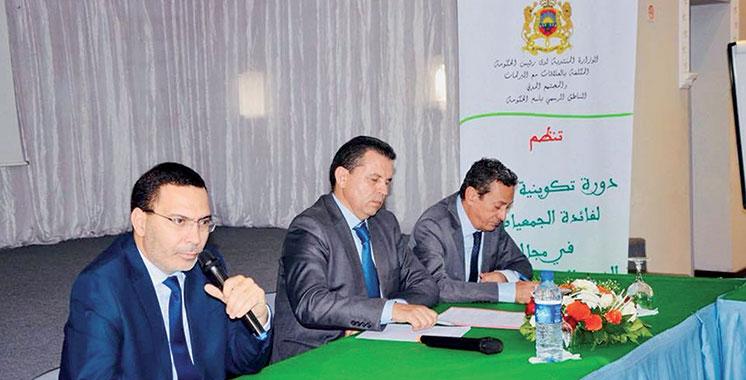 Agadir : Les acteurs associatifs formés  à la démocratie participative