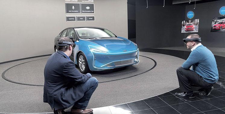 Ford utilise l'HoloLens de Microsoft pour concevoir ses véhicules