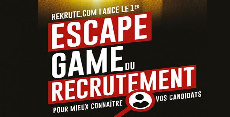 ReKrute lance les «Escape Game du recrutement»