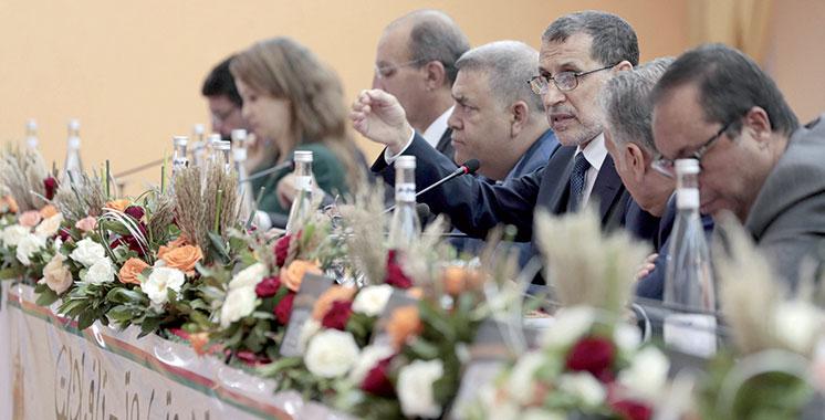 Le chef de gouvernement conduit une délégation  ministérielle à Errachidia