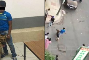 Vidéo : Un jeune homme sème la terreur avec son chien devant un collège à Casablanca