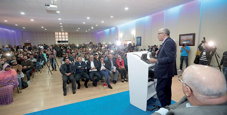 RNI : une forte affluence des jeunes à l'ouverture de l'université d'automne de la région Marrakech-Safi
