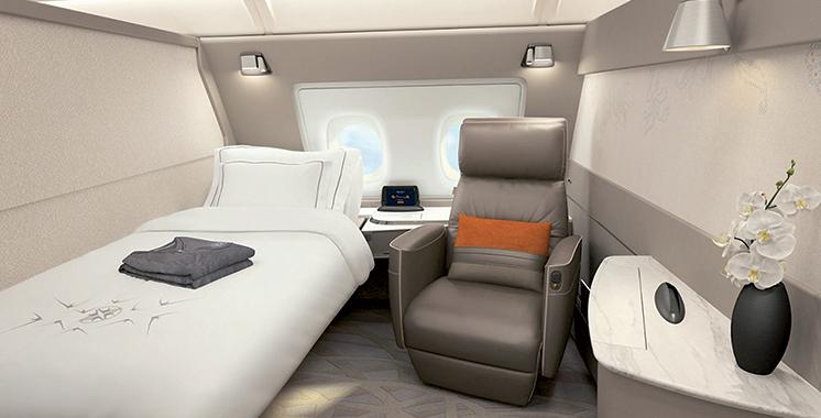 Singapore Airlines choisit Airbus pour le programme de réaménagement de ses A380