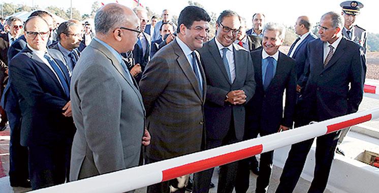 Autoroute : Triplement des voies de la gare de péage Mohammedia-Est