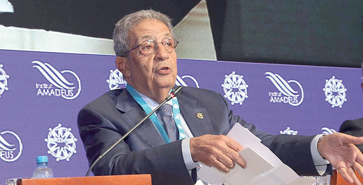 Amr Moussa : «Le Maroc poursuit son dynamisme et sa prospérité à tous les niveaux»
