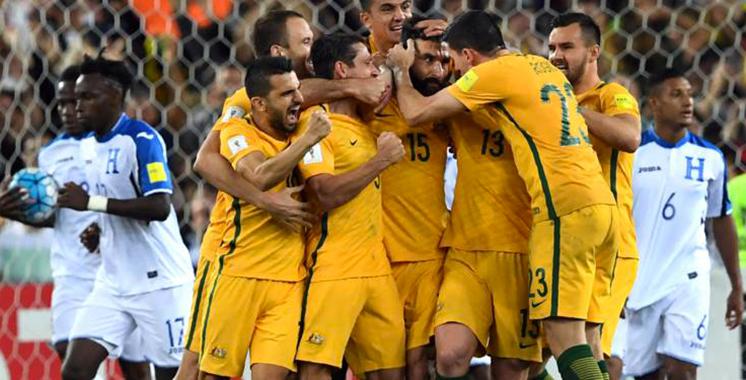 Mondial 2018 : L'Australie qualifiée