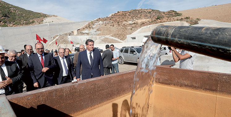 Périmètre d'irrigation Dar Khrofa : 8.000 hectares aménagés début 2018