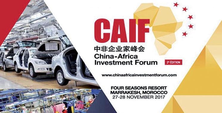 China-Africa Investment Forum : La 2ème édition les 27 et  28 novembre à Marrakech