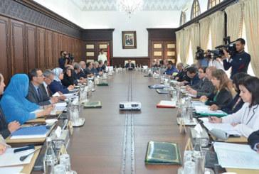 Ministres démis de leurs fonctions: Désignation des membres du gouvernement qui assureront l'intérim