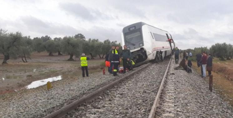 Une vingtaine de blessés dans le déraillement d'un train dans le sud de l'Espagne