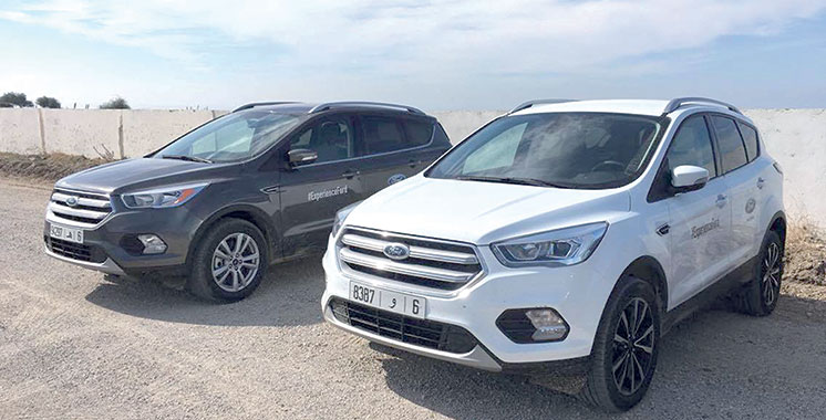 Ford Kuga II restylé : Un SUV polyvalent