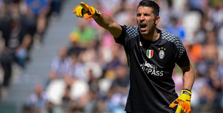 Italie: Gianluigi Buffon élu «joueur de Serie A de l'année»