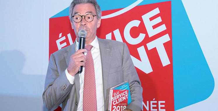 Total Maroc élu Service Client de l'Année Maroc 2018