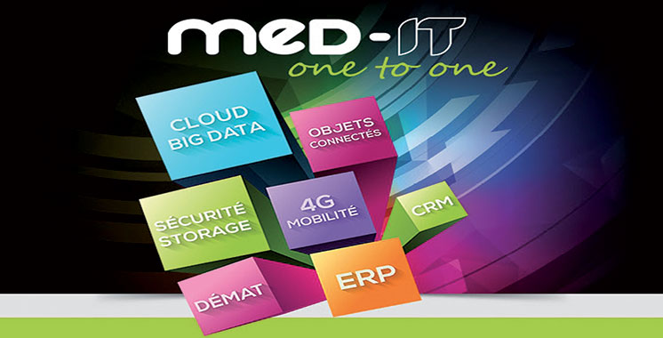 La 16ème édition du Salon MED-IT  les 28 et 29 novembre à Skhirat