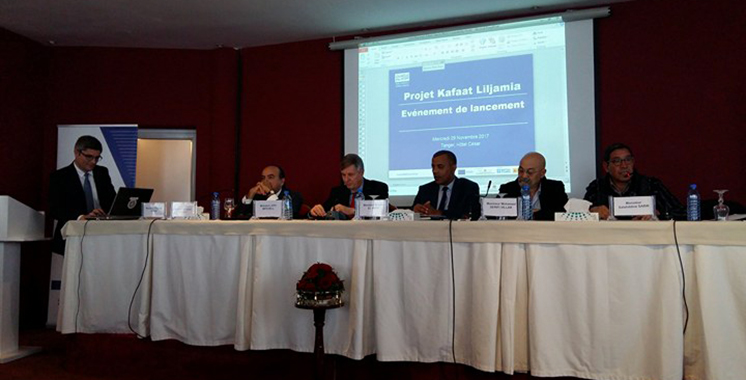 Formation professionnelle : Kafaat Liljamia  lancé à Tanger